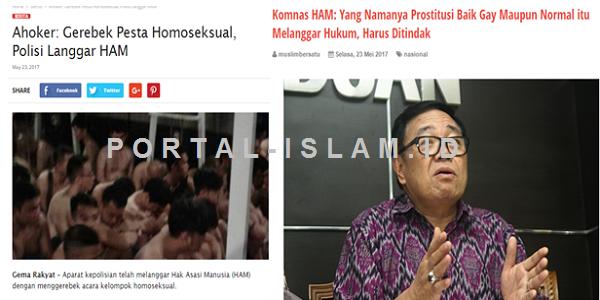 Sebut Grebek Pesta Sex Gay Langgar HAM, Ahoker Langsung Dikepret Komnas HAM