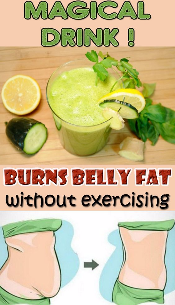 Magical drink! That burns belly fat without exercising