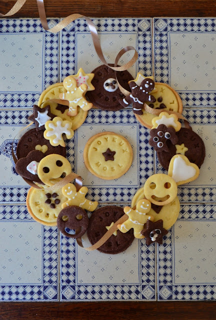 Couronne de biscuits