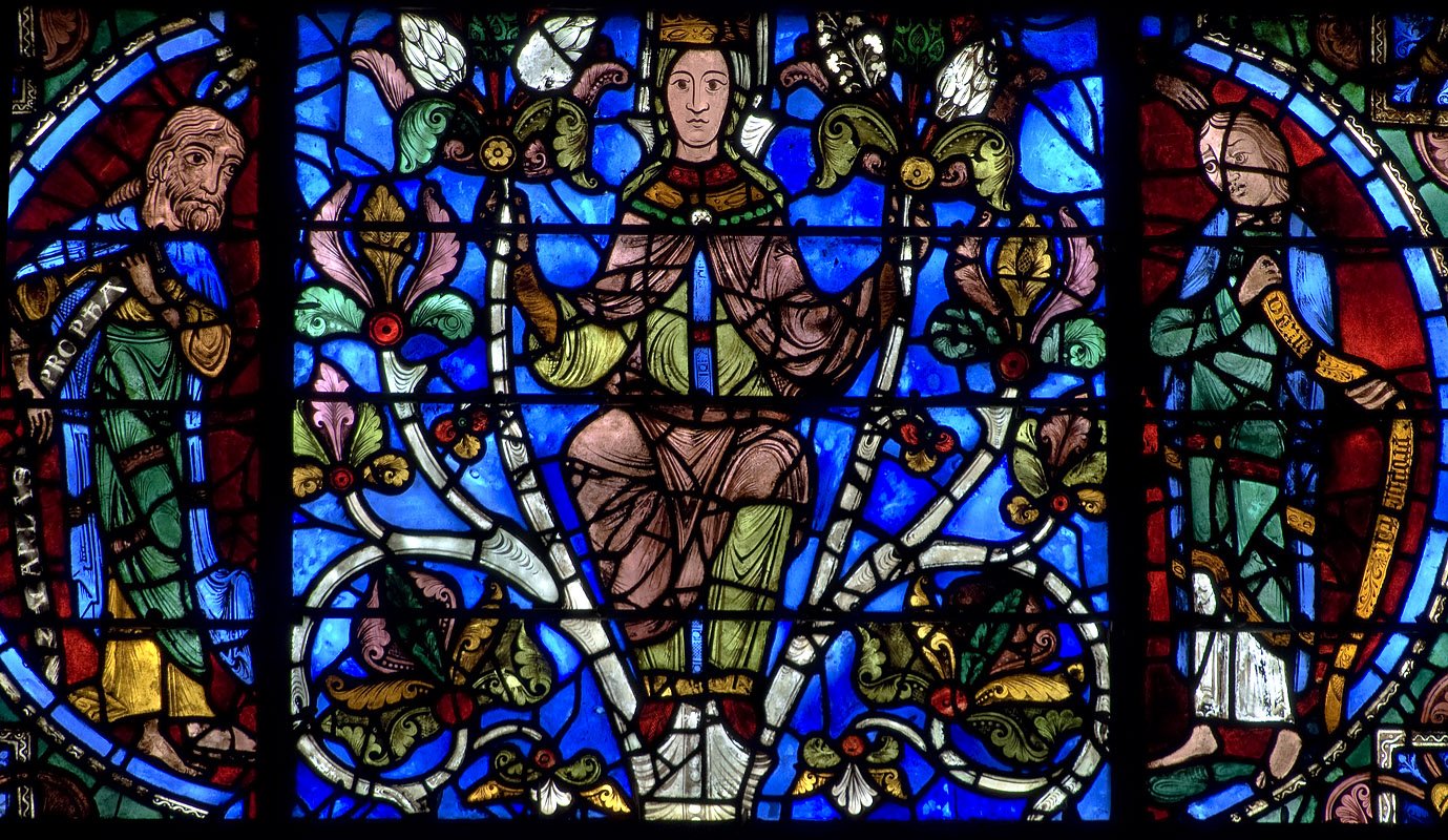 Mostly Medieval Images And Reflections The Virgin At