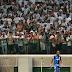 Torcida do Palmeiras xinga Globo durante transmissão do SporTV
