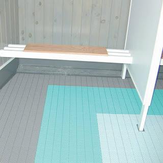 Greatmats commercial wet area shower flooring