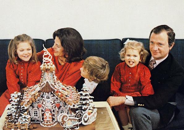 King Carl XVI Gustaf, Queen Silvia, Crown Princess Victoria, Princess Madeleine and Prince Carl Philip of Sweden