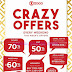 Promo SOGO Department Store Crazy Offers 21 - 23 Juli 2017