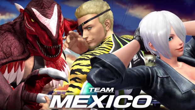 King of Fighters Team Mexico