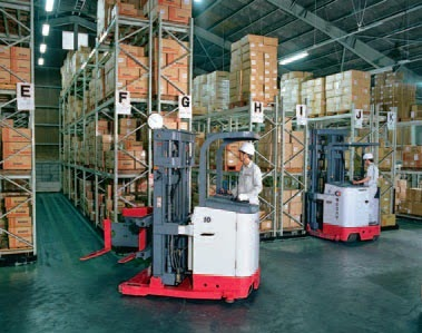 3-way Reach Truck | Very Narrow Aisle