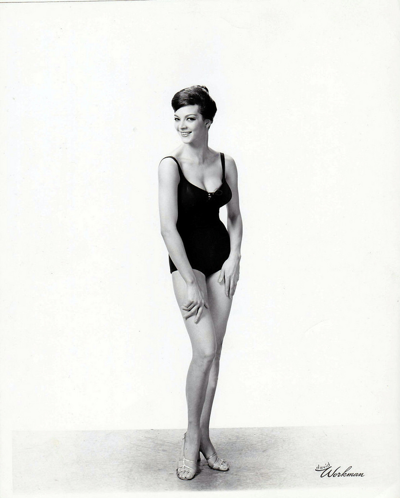 5144874751a This fabric trick created an optical illusion, hiding fifties bathing  suitsunsightly rolls and making the bathing beauty look slim.