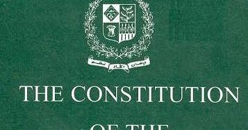 CONSTITUTION OF PAKISTAN PDF
