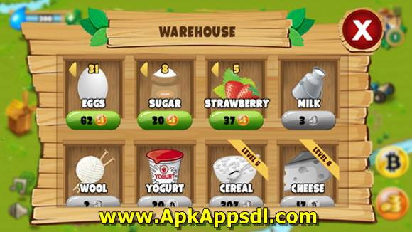 Free Download 8-Bit Farm Apk MOD v1.0.8 Android Hack Infinite Money and Coins Terbaru 2017