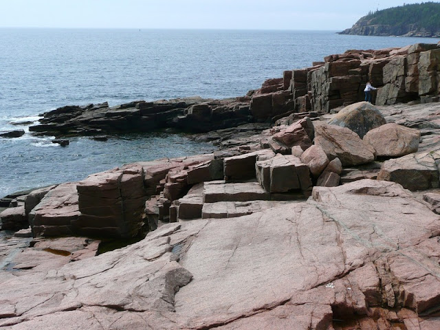 Otter Cliff coastline and Sea At Acadia National Park