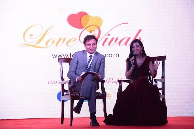 Gorav Aggarwal, President, Lovevivah.com and Amrita Rao
