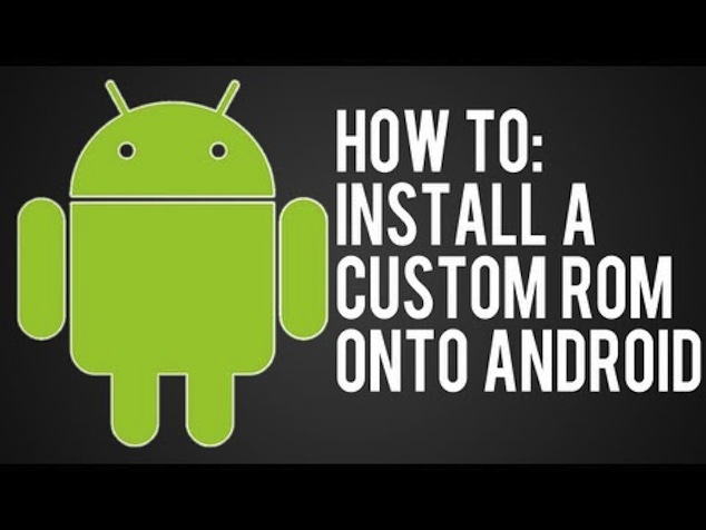 install custom ROM in android phone