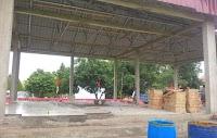 Direhab Setelah Diterjang Puting Beliung, Tribun Olahraga  Libureng Siap Digunakan Agustus
