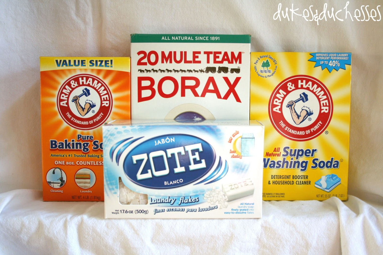 Homemade Detergent Dukes And Duchesses
