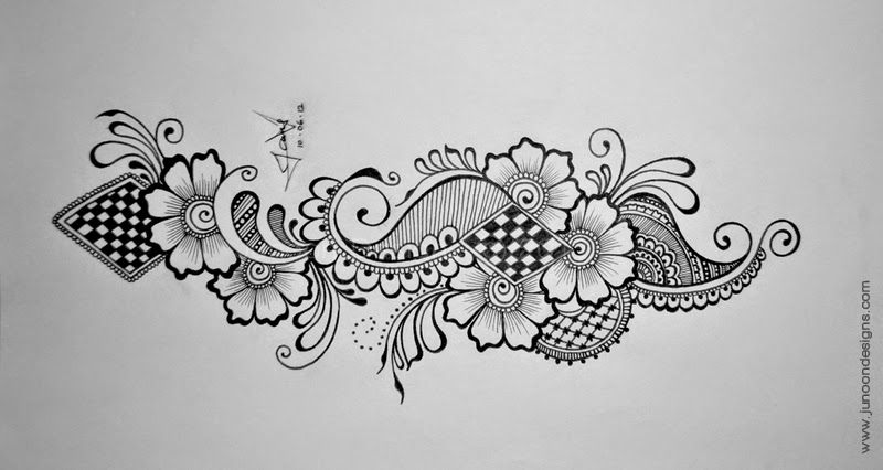 66 Images For Paper Drawing Henna Design ~ All What Veiled ...