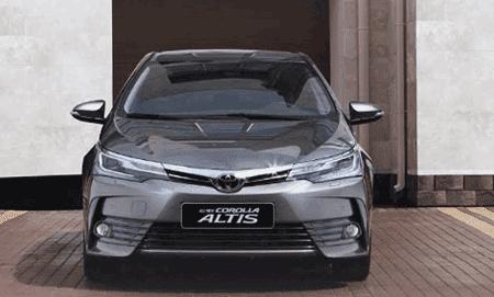 Mobil Toyota Corolla Altis
