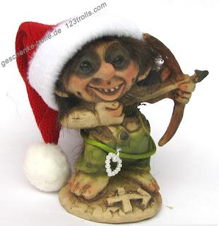 """Eredeti norvég """"Ny Form Trolls"""" troll manó a 123trolls.com kínálatában"""