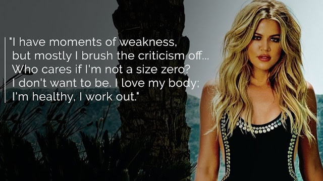 inspirational quotes khloe kardashian quotes