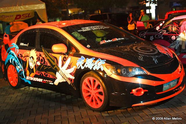 station ohayo world: carros customizados de animes