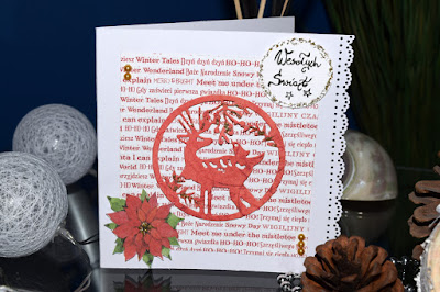 Scrapbookowe kartki Świąteczne