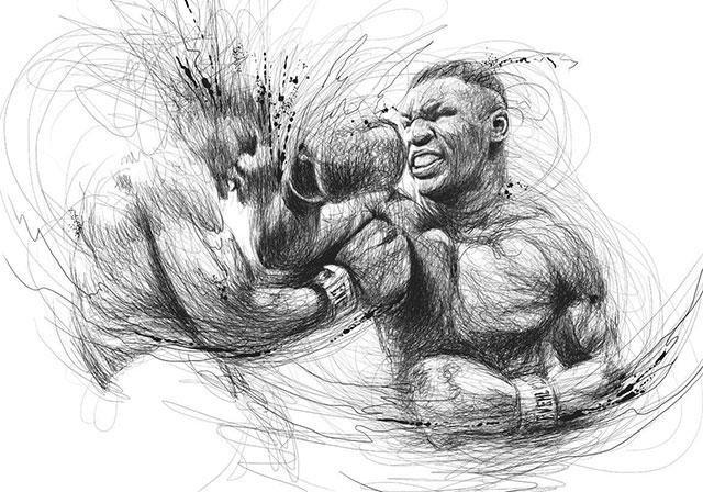 Vince Low, La Dislexia y El Arte del Garabato Mike Tyson