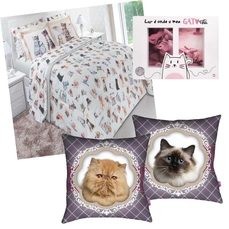 Produtos de gatinho para decorar o quarto
