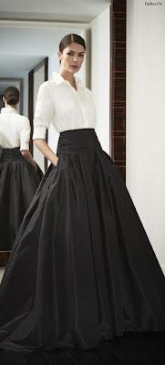 Faldas largas y elegantes