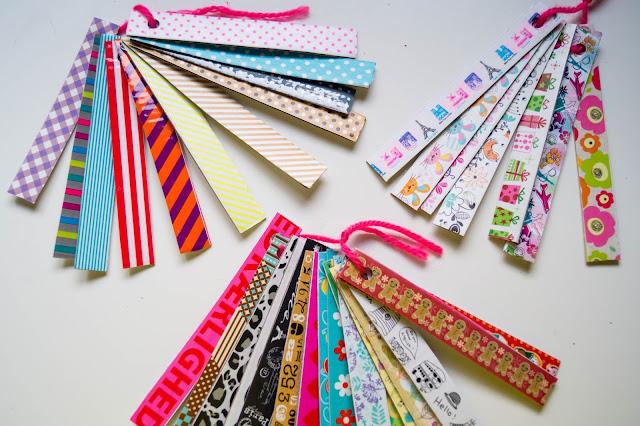muestrario washi tape