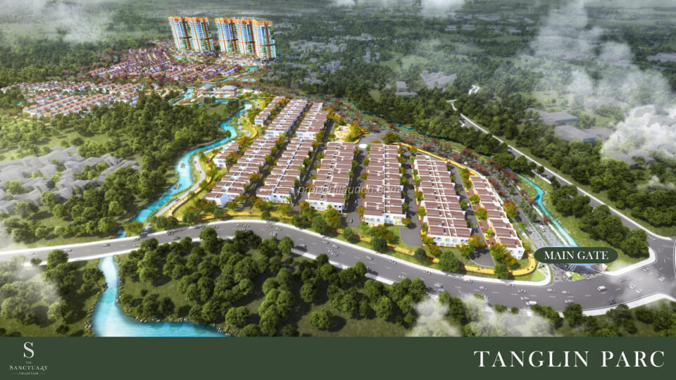 Perumahan The Sanctuary Collection Sentul