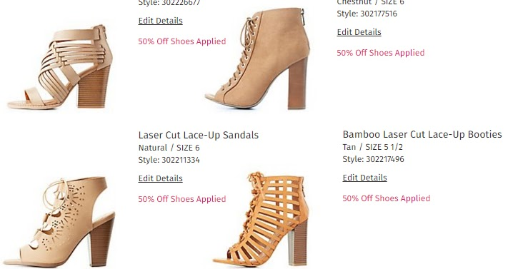 charlotte russe free shipping app