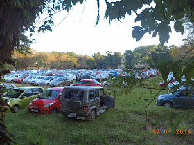 Parking @ Chennai Book Fair