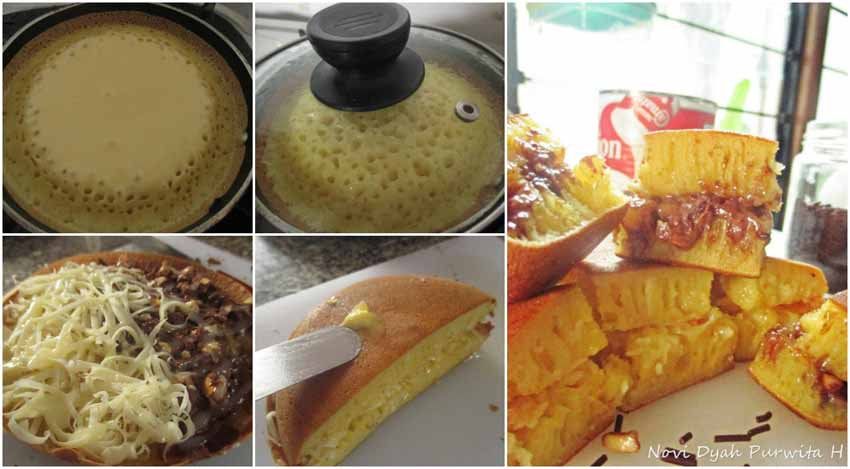 Resep Martabak Manis Teflon 1 Butir Telur