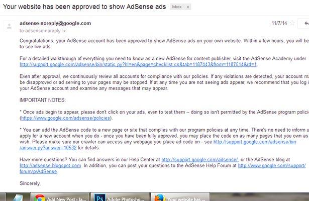 Situs Jual Beli Akun Google Adsense Full Approved Terpercaya
