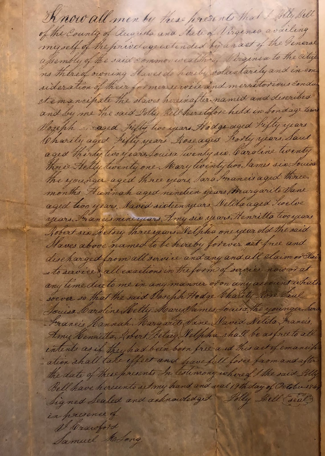 Freedom: Discovering Southwestern Ohio's Manumission Records