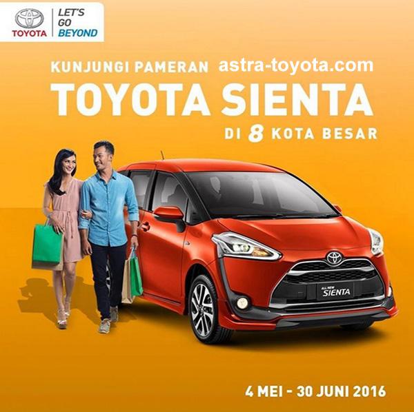 Kunjungi Pameran Toyota All New Sienta di 8 Kota Besar di Indonesia