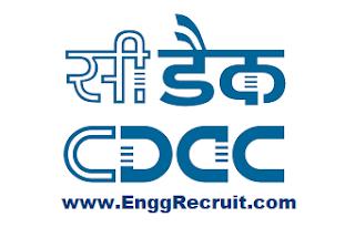 C-DAC Recruitment 2018
