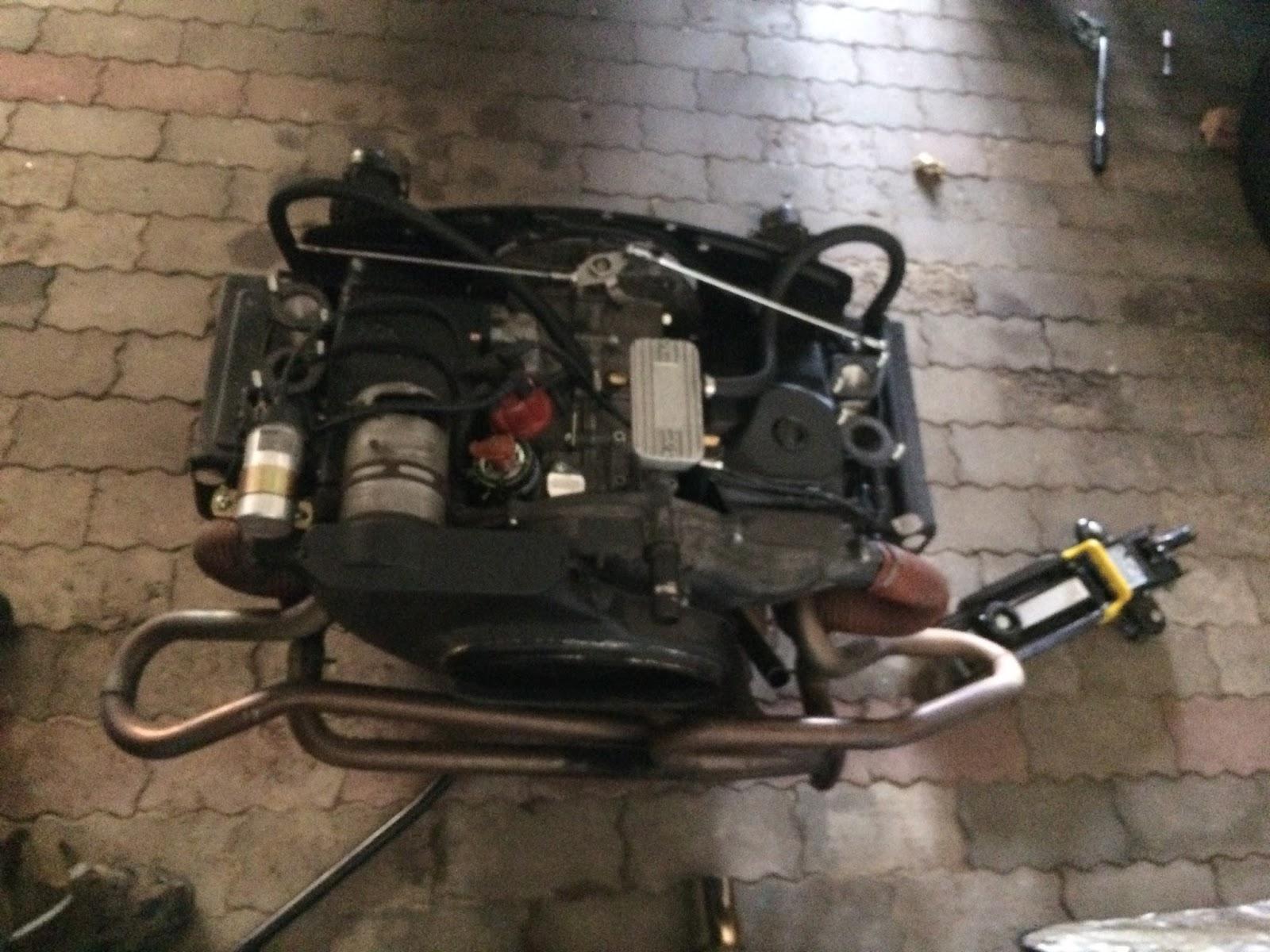 VW Typ-3: kleines Motor update
