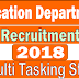 Education Dept of Manipur Recruitment 2018 | 413 Multi Tasking Staff | Apply Offline