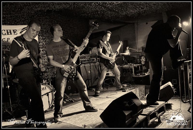 Blow uP @Metal Corporation Fest 2015 - METAL, MCP Apache, Fontaine-L'Évêque, Belgique 29/08/2015