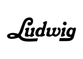 Ludwig drums Logo Vector