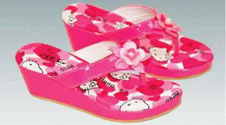 Model Sandal Anak Perempuan Hello Kitty
