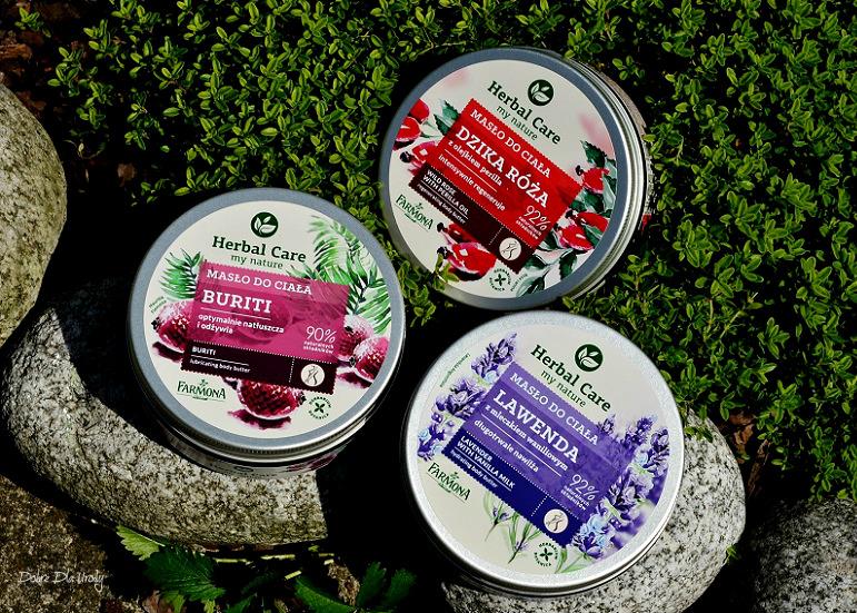 Farmona Herbal Care - Masła do ciała Buriti, Dzika Róża oraz Lawenda  recenzja