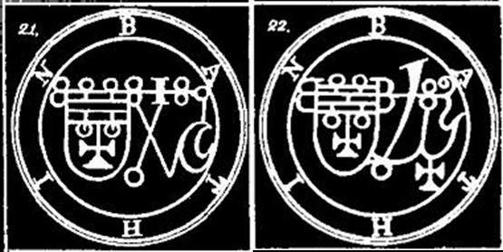 Bathin, Sigilos, Goetia, Ocultismo