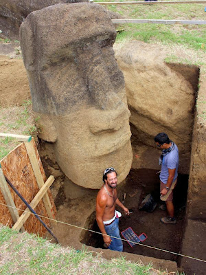 Easter Island's moai statues face environmental threat