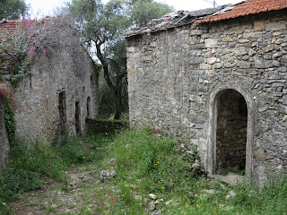 Abandoned Italian village of Portesone