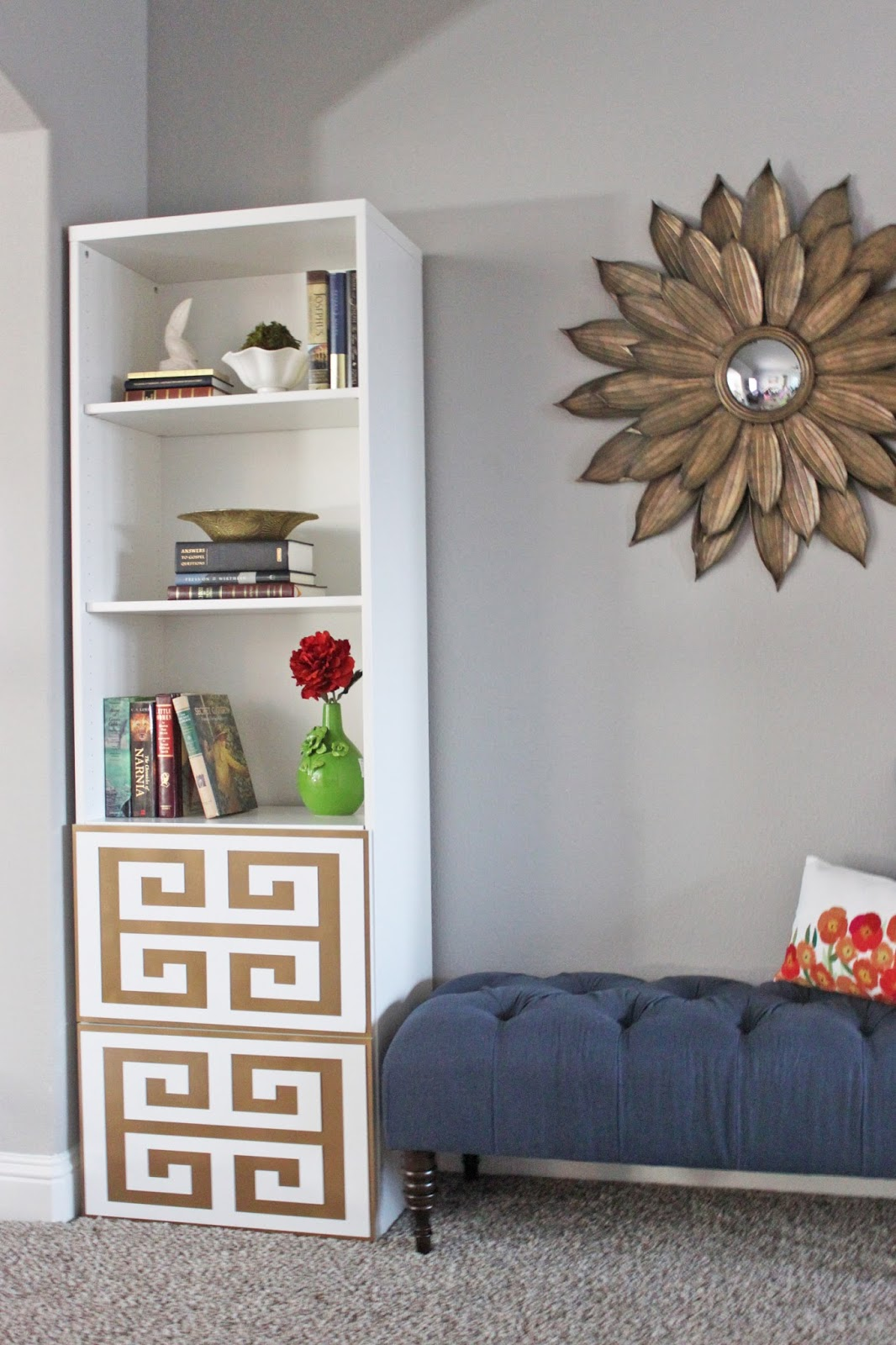 Ikea Hack Bookcase: A Little Of This, A Little Of That: IKEA Bookcase HACK