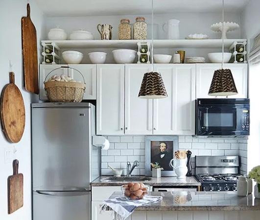deko dapur sempit jadi luas