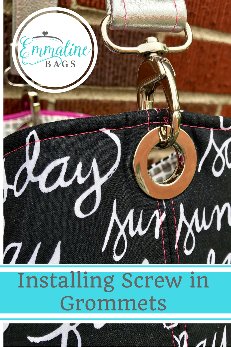 how to put grommets in sewing