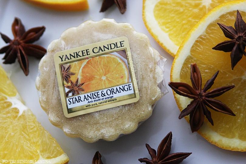 wosk zapachowy yankee cadnle plasterki pomarańczy i gwiazdki anyżu