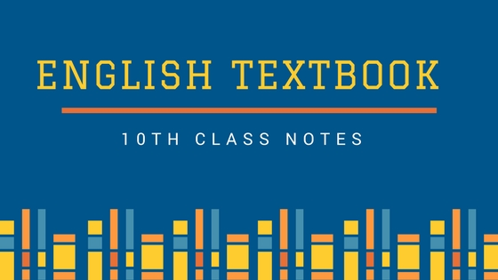 10th Class English Notes with FREE PDF | Top Study World